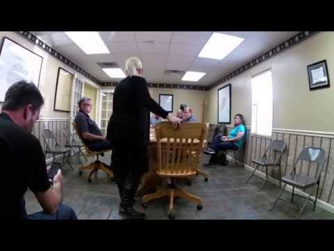 Discrimination against citizen video taping.  Warren County, Tennessee Government  Open Meetings