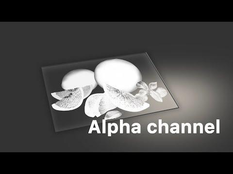 Выборочная УФ-печать. Создание альфа-канала. Как программировать выборочную печать белым?