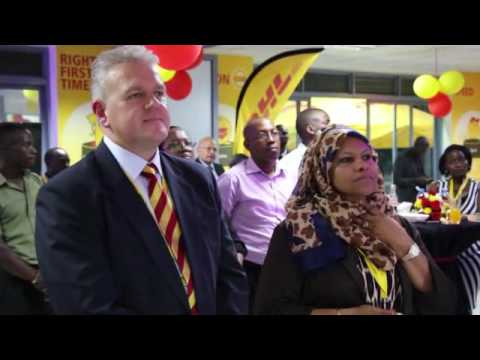 DHL KAMPALA STATE OF THE ART SERVICE CENTRE LAUNCHED