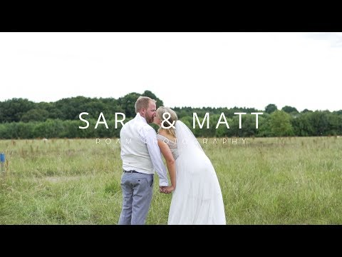 Larmer Tree Wedding Video | Sara & Matt | 4K