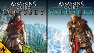 Assassin's Creed: Valhalla vs Assassin's Creed: Odyssey | Direct Comparison