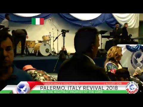 ITALY HEALING SERVICE 2018  - PALERMO