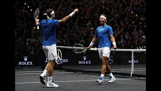 Historic double act headlines day two | Laver Cup 2017