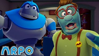 Arpo the Robot | ZOMBIE AND ARPO!!! | Arpo Full Episodes | Compilation | Funny Cartoons for Kids