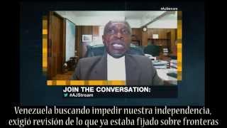 Canciller de Guyana discute Esequibo con abogado Jesús Silva