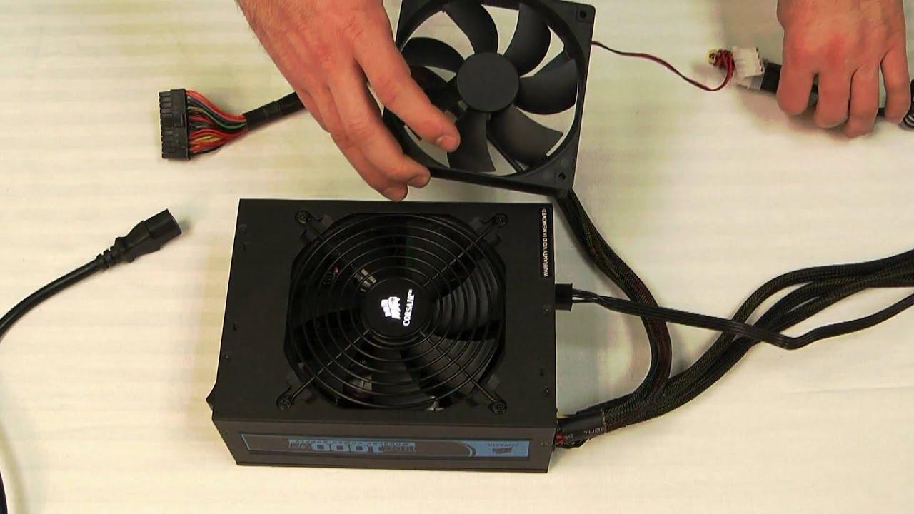 Ac Fan Wiring Corsair Video Faq How To Test A Corsair Power Supply