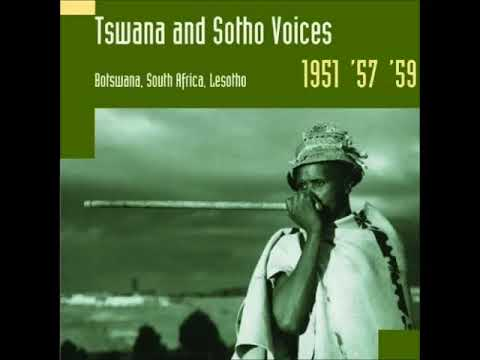 Ngana wa lela (Tlharo song from Southern Africa, Hugh Tracey archive)