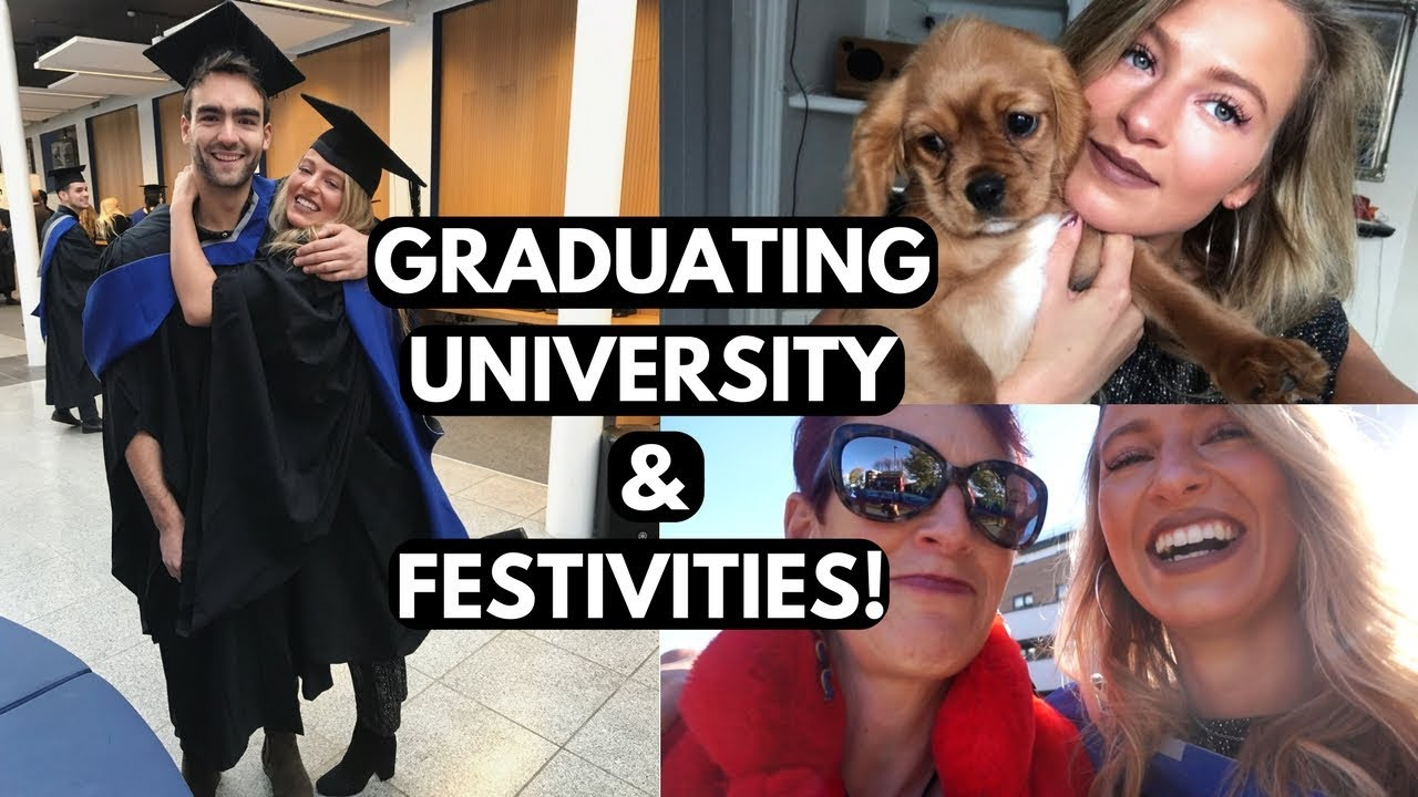 GET READY FOR GRADUATION WITH ME   WEEKEND VLOG