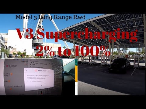 Tesla Model 3 V3 Supercharging: Is It Really That Fast?