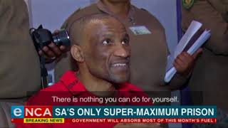 SA's only super-maximum prison