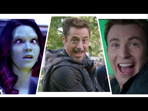 Jo Jo - Check Out The Avengers Bloopers..