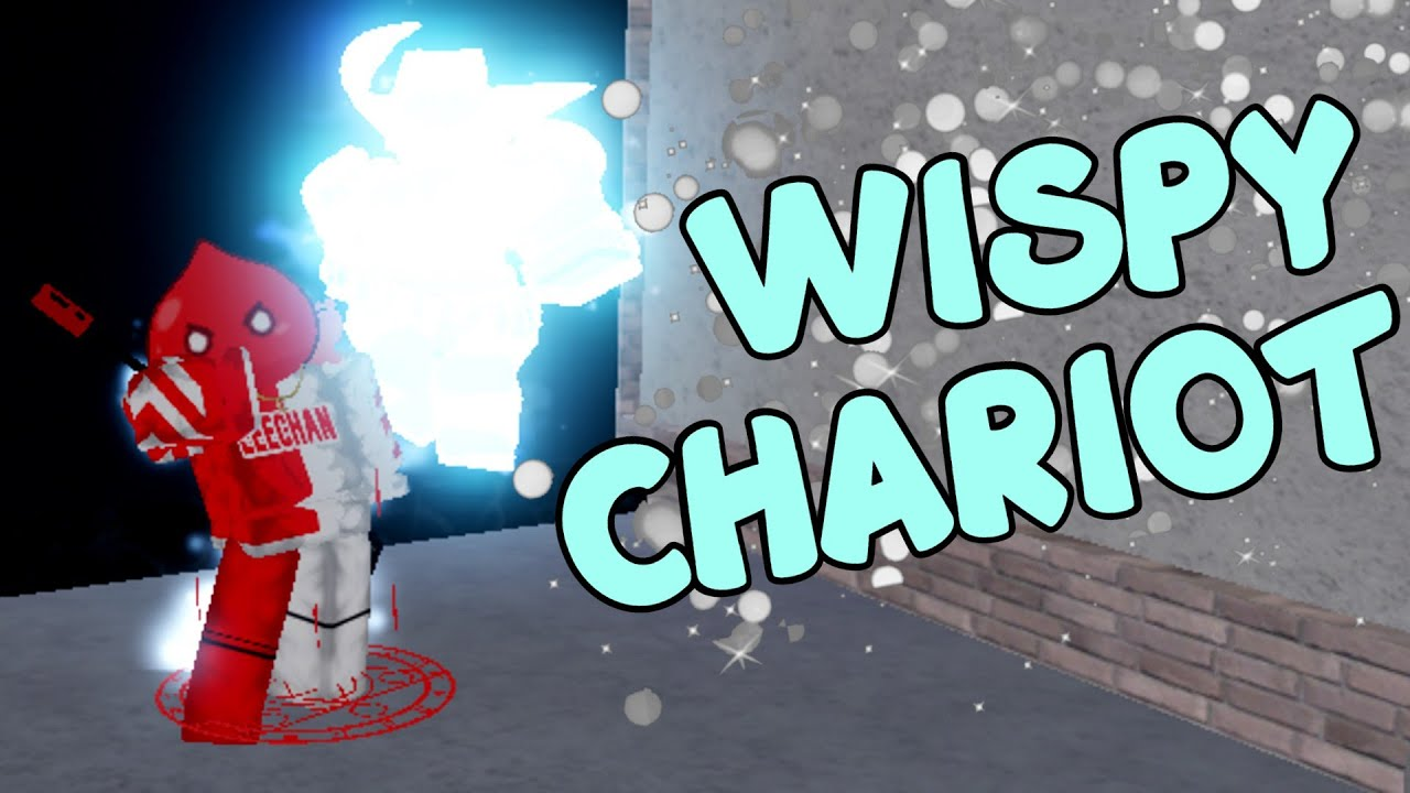 If I get Wispy Chariot the video ends… [YBA]