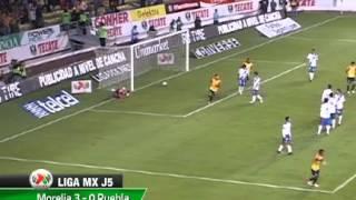 MORELIA VENCE A PUEBLA: 3-0