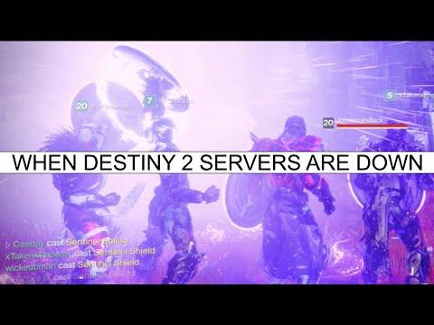When Destiny 2 Servers Are Down...