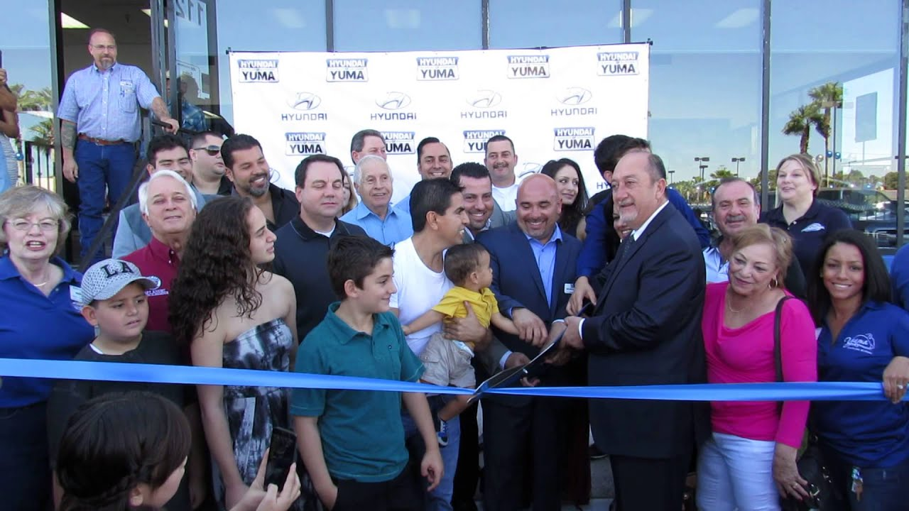 Hyundai Of Yuma >> Hyundai of Yuma ribbon cutting - YouTube