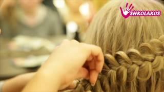 Бесплатный онлайн курс по прическам из кос от Школы кос Shkolakos