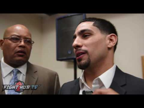 Danny Garcia says he will whoop Thurman's ass, answers why hes fighting Vargas