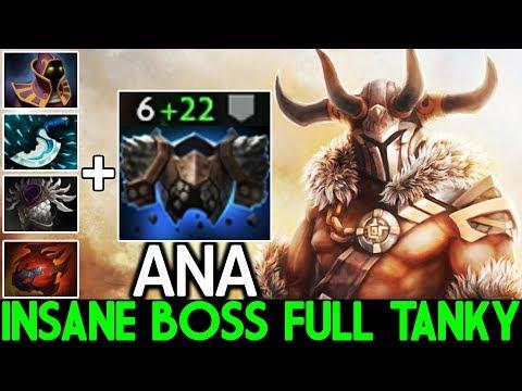 ANA [Centaur Warrunner] Insane Boss Full Tanky Pro Gameplay 7.24 Dota 2