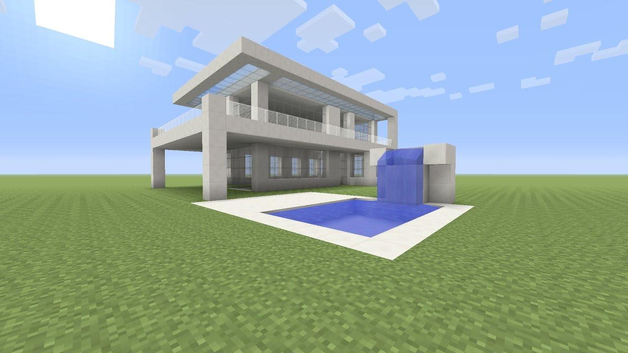 Minecraft Een Kwarst Villa Maken Youtube