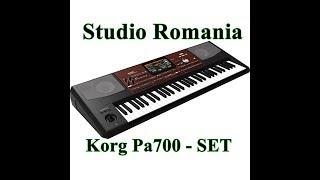 Korg Pa700   2018 SET - Studio Romania