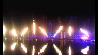 Fountain Show in Dubai Festival City