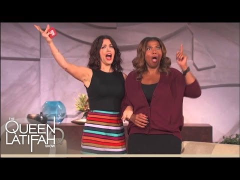 Bellamy Young Hits The High Note | The Queen Latifah Show