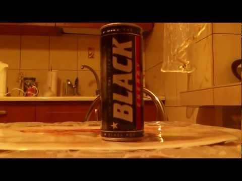 Energy Test #1 - Black Energy Drink