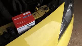 Замена лампочки ближнего света Opel Astra J GTC