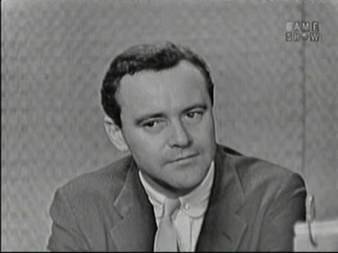 What's My Line? - Jack Lemmon; Jerome Hines [panel] (Apr 10, 1960)