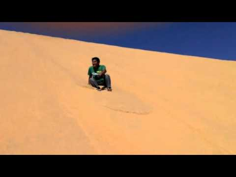 Qatar:  The Singing Sand Dunes