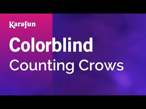 Karaoke Colorblind  Counting Crows *
