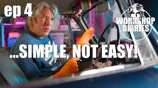 Edd China's Workshop Diaries Episode 4 (1962 Alvis & Electric Ice Cream Van Part 2)