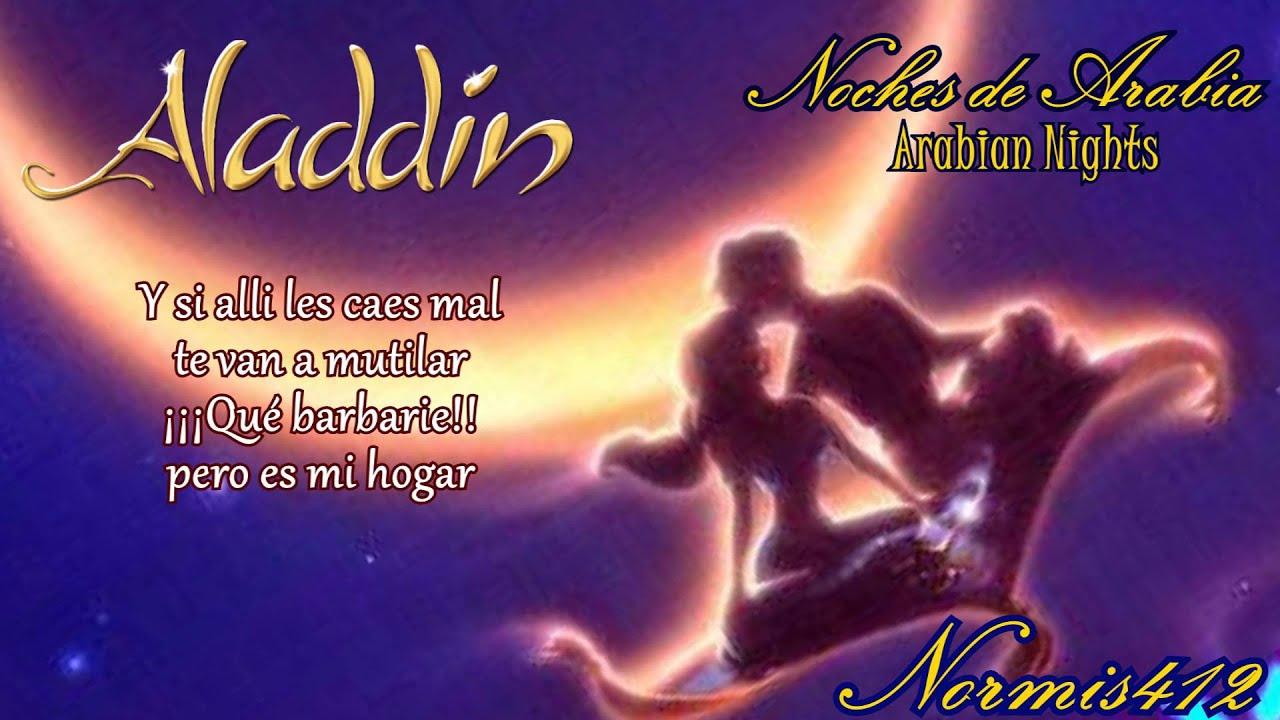 Arabian Nights Pelicula Completa Español 【arabian nights】noches de arabia【aladdin】cover latino normis412