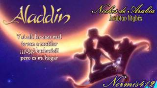 【Arabian Nights】Noches de Arabia【Aladdin】COVER Latino Normis412