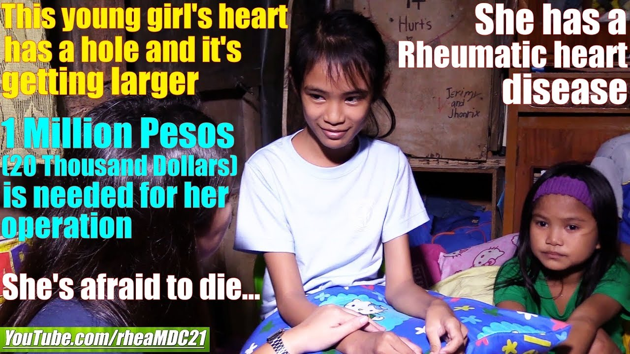 Travel to Manila Philippines and Meet this Young Girl with Heart Disease. The World's Society