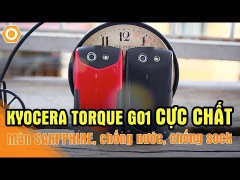 Màn Sarpphire, chống nước giá chỉ hơn 2 triệu - Kyocera Torque G01 cực chất