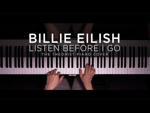 Billie Eilish - listen before i go  The Theorist Piano Cover