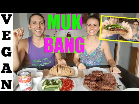 MUKBANG vegan eating show + Tumblr Q&A