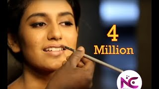 Oru adaar love heroine Priya p varrier photosoot Priya prakash varrier makeup 2018 (nextevents)