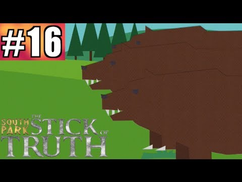 South Park The Stick of Truth Gameplay Walkthrough | Part 16 - Dire Bears!