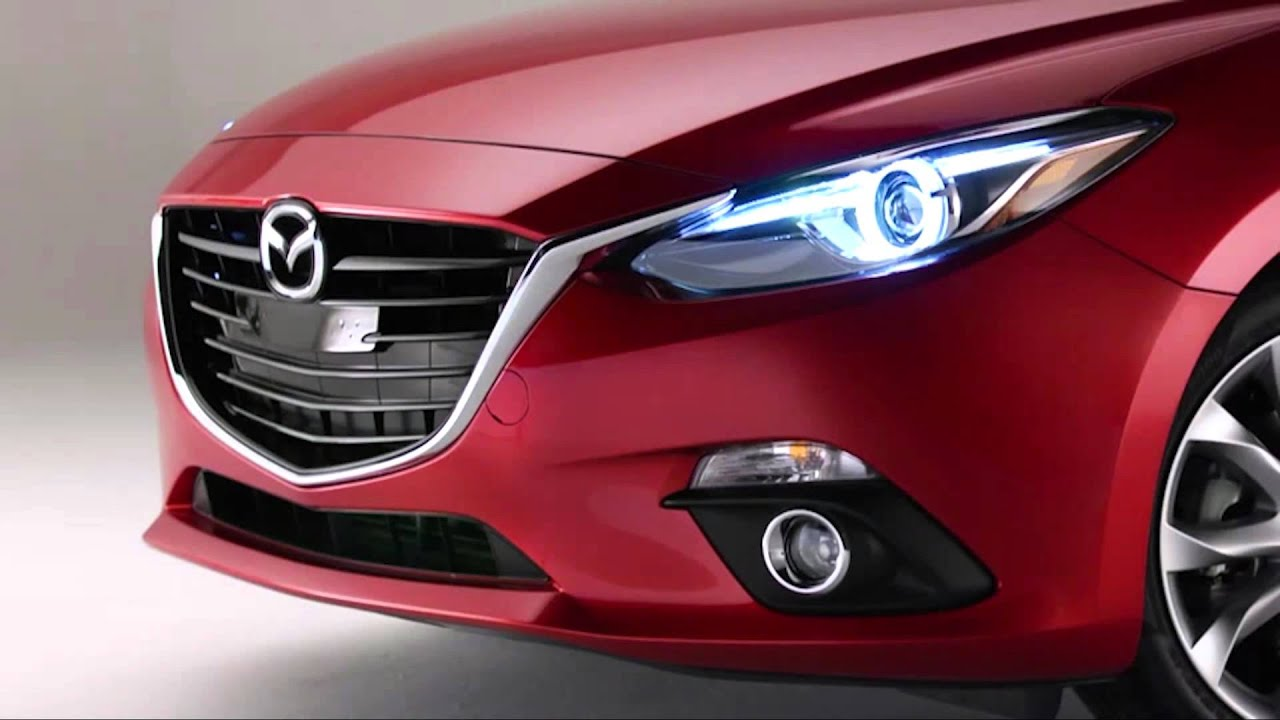 use the Bi-Xenon headlamps in the 2015 Mazda3 - YouTube