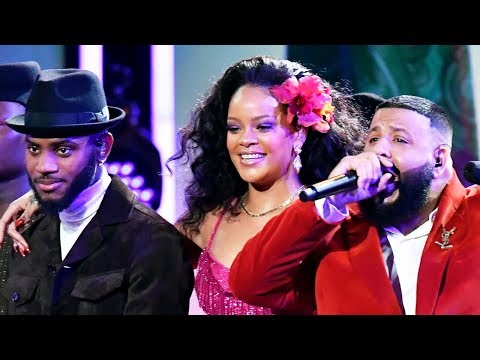 Rihanna, DJ Khaled & Bryson Tiller Perform