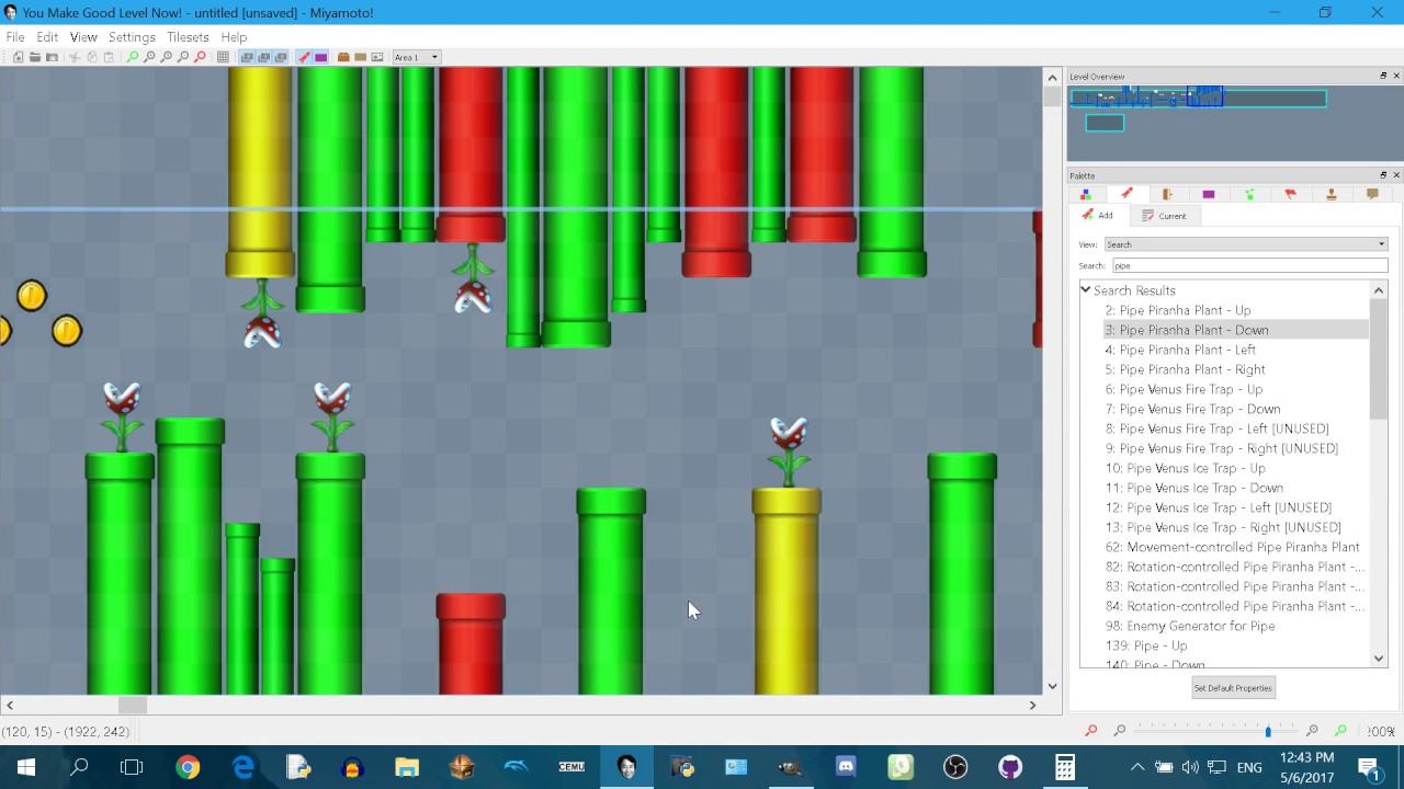 Miyamoto! - A NSMBU/NSLU Level Editor   GBAtemp net - The