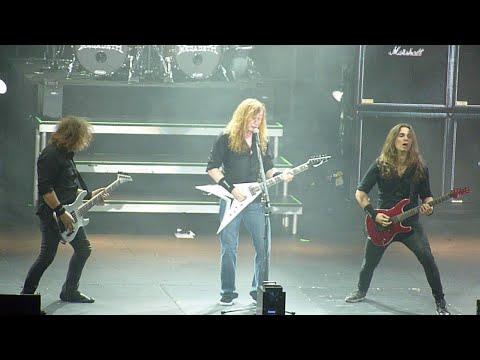 Megadeth - Cold Sweat, Live at the 3Arena, Dublin Ireland, 09 November 2015