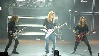 Megadeth - Cold Sweat, Live at the 3Arena, Dublin Ireland, 09 November 2015