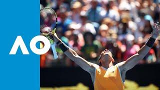 James Duckworth v Rafael Nadal match highlights (1R)