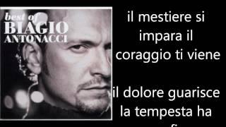Biagio Antonacci - Ti Dedico Tutto Testo Lyrics