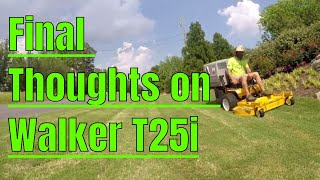 2018 Mowing and Lawn Care Vlog #23 Final Thoughts on the Walker