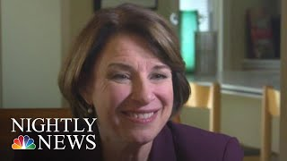 Amy Klobuchar Talks #WhatMatters To 2020 Democratic Voters: Unions | NBC Nightly News