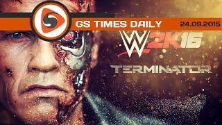 GS Times [DAILY]. Арнольд Шварценеггер в WWE 2K16